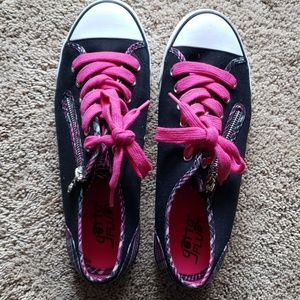 Gotta flurt plaid pink converse like sneakers 10